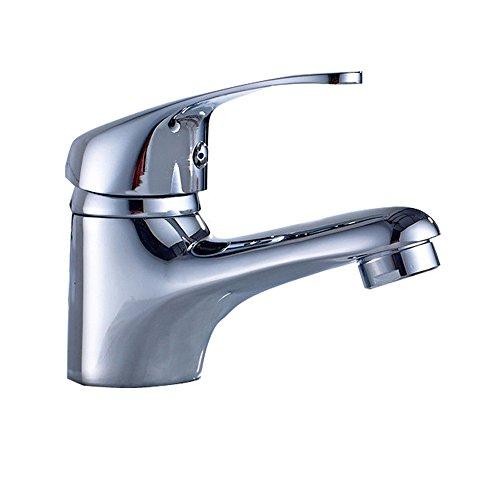 HENGMEI Einhebelmischer Waschtisch-Einhebelmischer Waschbecken Bad Wasserhahn Waschtischarmatur Küchenarmatur (Modell A)