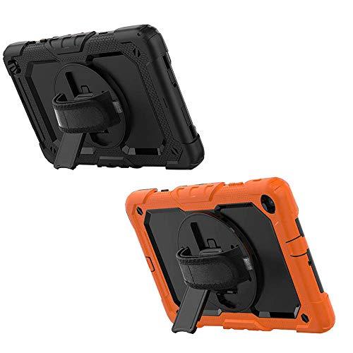 Utility Case, Compatibel Met Samsung Tab A 8.0 T515 T590 T590 360 Rotatie Handriem & Standaard Tablet, Utility Case Anti…