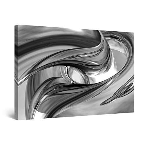 Startonight Cuadro sobre Lienzo en Blanco y Negro Destino, Impresion en Calidad Fotografica Enmarcado y Listo para Colgar Diseño Moderno Decoración Formato Grande 60 x 90 CM