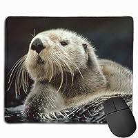 Sea Lazyマウスパッド滑り止めラバーゲーミングマウスパッドコンピューター用ラップトップ30x25 cm