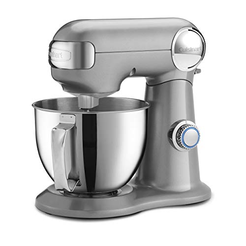 Cuisinart SM-35BC Precision Master 3.5 Quart (Silver Lining) Stand Mixer