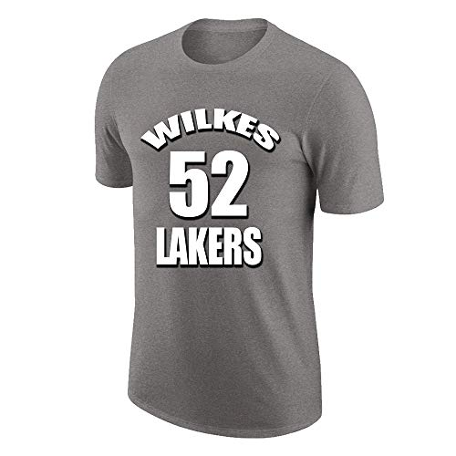W&F Jamaal Wilkes # 52 Camiseta de Manga Corta Camisetas...