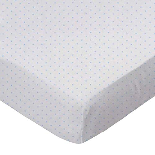 Fantastic Deal! SheetWorld 100% Cotton Jersey Extra Deep Fitted Portable Mini Crib Sheet 24 x 38 x 5...