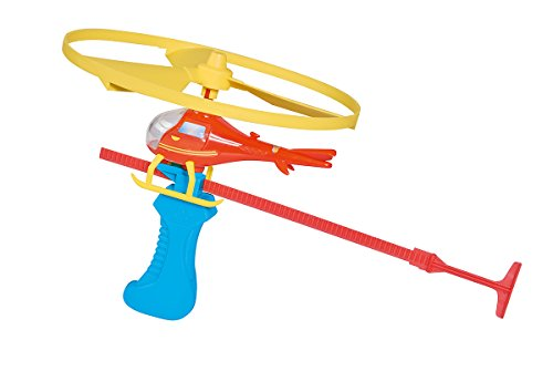 Simba 109252127 - Feuerwehrmann Sam Wallaby Flugspiel / Helikopter 13 cm / Mit Kunststoff Starter
