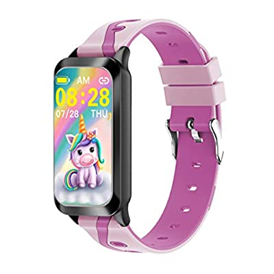 PETS AND MORE Sportywrist Kids Activity Tracker Watch for Kids Girl boy with Unicorn, Featuring : Long Battery Life Heart Rate - Sleep Monitor, Vibrating Alarm Clock,Waterproof Calorie,Step Counter