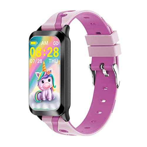 PETS AND MORE Sportywrist Kids Activity Tracker Watch for Kids Girls with Unicorn, Featuring : Long Battery Life Heart Rate - Sleep Monitor, Vibrating Alarm Clock,Waterproof Calorie,Step Counter