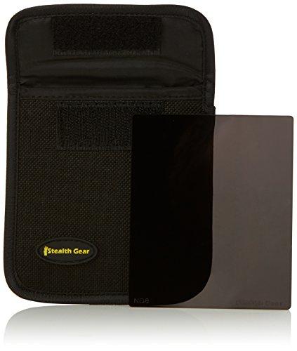 Stealth Gear ND-8 - Filtro quadrato a densità neutra compatibile con Cokin P