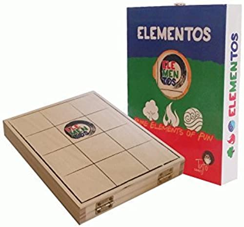 ELEMENTOS - 2 Player wooden light strategy game by Tyto Games