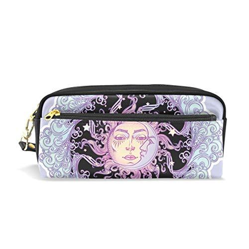 ISAOA Estuche de gran capacidad con cremallera para artículos de papelería, estilo de cuento de hadas, bolso para bolígrafo, neceser para cosméticos, maquillaje, regalo de Navidad para niñas y niños