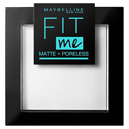 Maybelline New York FitMe Matt und Poreless Puder 90 Translucent 1er Pack(1 x 9 g)