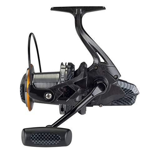 Diwa Fishing Reels Spinning 8000 10000 14000 Series Spool Freshwater Saltwater Big-Game Surf Fishing 12+1 Stainless BB 70 LBS Max Drag Carbon Fiber Ultra Smooth Powerful Oversize Gear (14000)