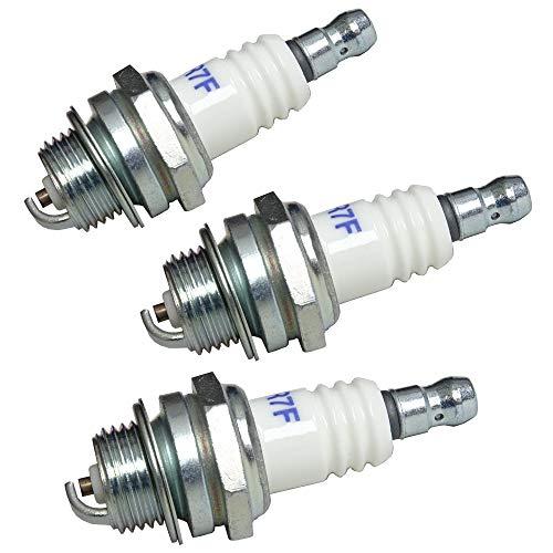 Bujías de repuesto para desbrozadoras y motosierras (sustituye a Bosch WSR6F Bosch 0242240846 Champion RCJ6Y Dolmar 965603014 NGK BPMR6A NGK BPMR7A Stihl 11104007005)