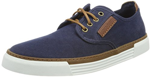 Camel active Herren Racket Sneaker, Blau (navy 08), 48 1/2 EU (13 UK)