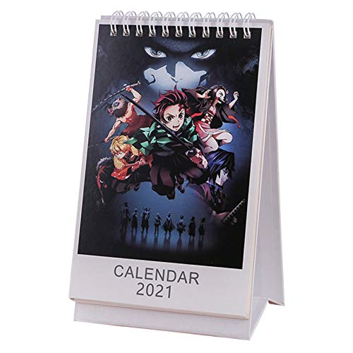 Demon Slayer 2021 Desk Calendar