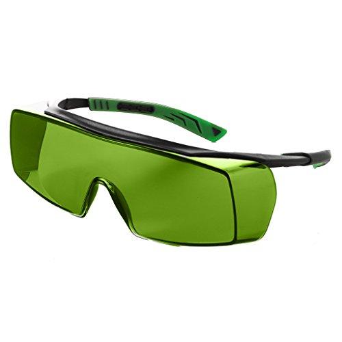 Univet Schutzbrille, 5 x 7 cm, Grün IR1.7