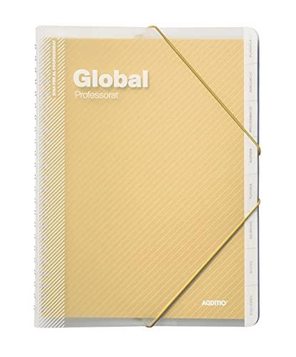Additio P171 Carpeta Global Avaluació + Agenda + Tutoria + Reunions Groc (Català)