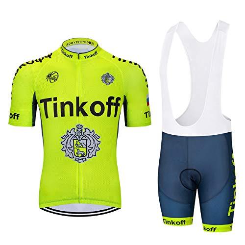 Fietsshirt voor heren met korte mouwen Tops + korte broeken Lichtgewicht ademend Sneldrogend Zomer Warm MTB Mountainbike Fietsracen T-shirt