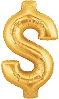dollar sign balloons