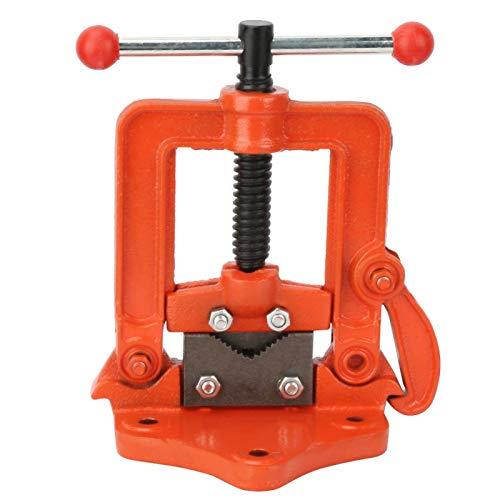Prensa plana cruzada, tornillo de banco de hierro fundido, mesa de 2/3/4 pulgadas, abrazadera giratoria, tornillo de banco para tubo, prensa plana cruzada(3 pulgadas)