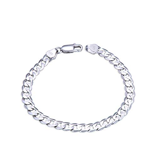 Dxnbp S925 Silver Bracelet Personality Bangle Romantic Couple Accessories For Both Men And Women