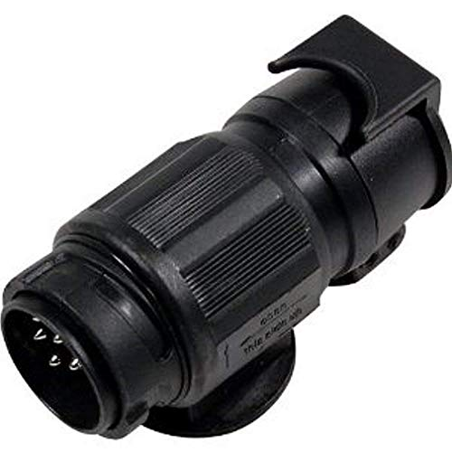 Adapter 12 V von 13 auf 7 polig Erstausrüsterqualität Nach ISO 1724 und 11446