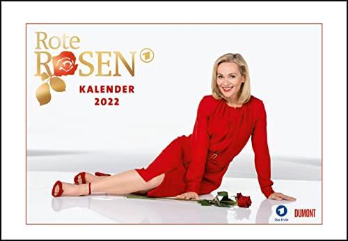 Rote Rosen 2022 - Broschürenkalender - Wandkalender - mit Jahresplaner - Format 42 x 29 cm