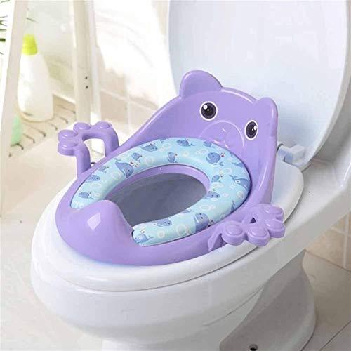 Sygjal Folding Baby-Potty-Kind-Kind-Toiletten-Training Sitz mit einstellbarem Leiter Tragbare Urinal Potty Training Sitzen for Kinder (Color : D5, Size : Kostenlos)