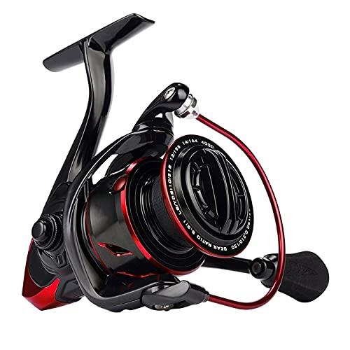 Carretes de Pesca ZWRY Carrete Giratorio de Resistencia al Agua 18KG Carrete de Pesca de Potencia de Arrastre máximo 2500 Series 11