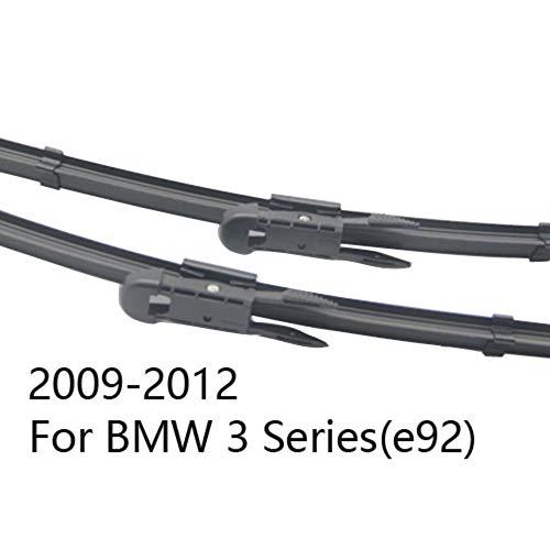 ZIMAwd Spazzole tergicristallo Auto, spazzole tergicristallo Anteriore Auto, per BMW Serie 3 E36 E46 E90 E91 E92 E93 F30 F31 F34 316i 318i 320i 323i 325i 328i 330i 335i 318d 320d 330d