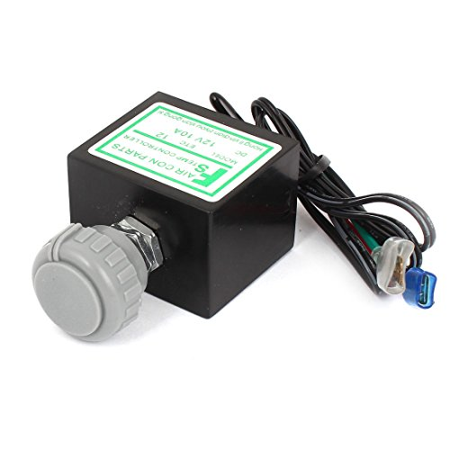 Vehicle 4 Wired Temperature Control Refrigerator Thermostat DC24V 10A