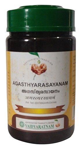 Agasthya Rasayanam - Ayurvedic Formula for Asthma & Lungs Support - Vaidyaratnam Oushadhasala - 250gm by Vaidyaratnam Oushadhasala