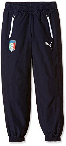 PUMA Herren Hose FIGC Italia Leisure Pants Italien Präsentationshose, Peacoat, S