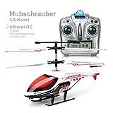 Hélicoptère RC, jouets télécommandés, chaîne miniature 3.5CH Hélicoptères avec gyroscopes intégrés et lumières LED, hélicoptères pour enfants et adultes, jouets pour garçons et filles, cadeaux de Noël