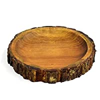 【Konoka】トレー S 15-17.5cm 丸 丸型 アカシア 木製 木 天然木 プレート 皿 インテリア 雑貨 手作り カフェ 食器 ウッドバーニング おしゃれ かのりゅう 可 ラッピング不可