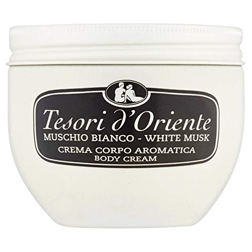 Tesori d'Oriente Crema Corpo Muschio Bianco - 300 ml