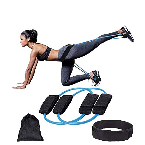 SYCYKA Booty Resistance Belt Bands,Resistance Bands,Adjustable Waist Belt for Legs Strength and Butt Muscle Training Equipment (30)