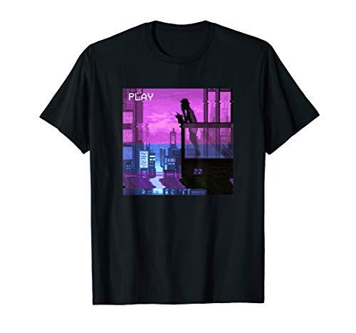 Vapor Wave T Shirt für cyberpunks, traurig Jungen, und traurig Mädchen