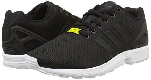 adidas Zx Flux, Zapatillas Unisex, Multicolor (Negro / Blanco), 44 EU