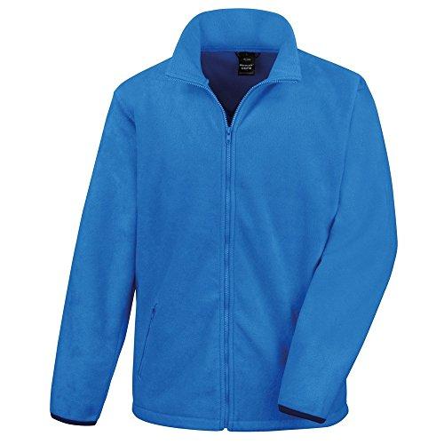 Result Core - Veste Polaire - Homme (XL) (Bleu électrique)