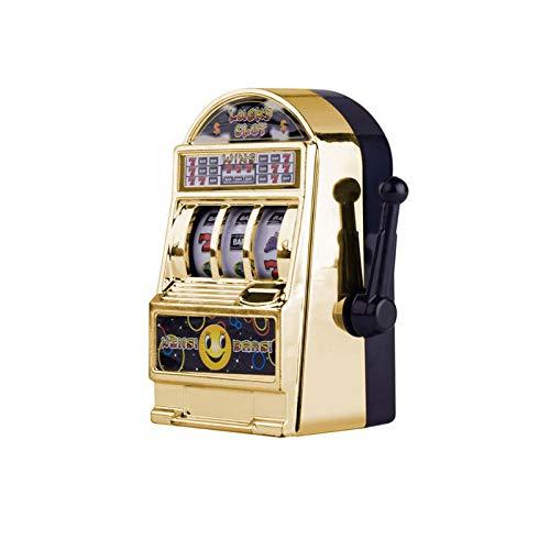 Royoo Spardose – Spielautomat,Spielautomat Bank Toy Lottery Game Machine- Mit Spinnrollen 10 X 6 X 5 cm
