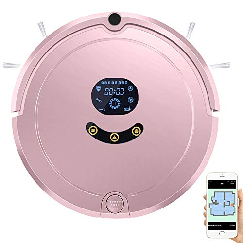 Best Bargain WMWHALE Robot Vacuum Cleaner,with Voice Prompts,3.5In Thin, Super Quiet, Smart Self-Cha...