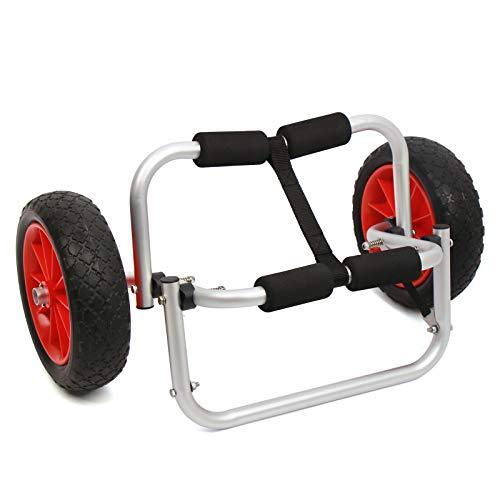 SHZICMY Chariot de transport pour kayak avec roues...