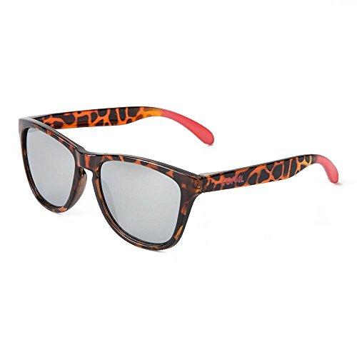 Coral zonnebrillen MALIBU zonnebril Carey en verspiegelde glazen matte hoogglans afwerking.