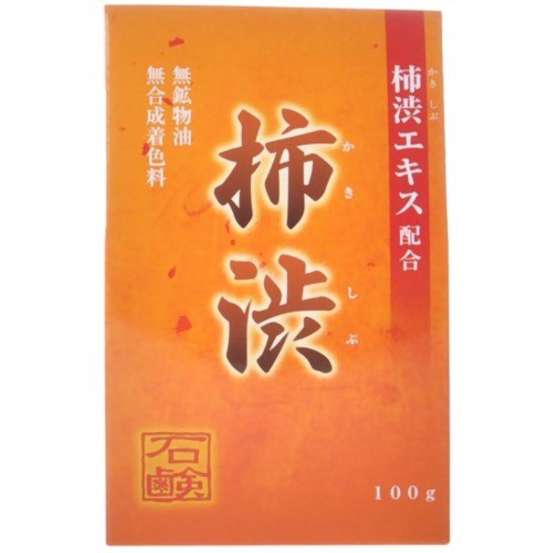 処方記念慣習柿渋石鹸 100g