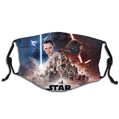 christmas Face Mask Funny BTS Mouth Mask Windproof Filter Unisex Reusable masks washable for Adult-Star-wars-the-rise-of-skywalker christmas decorations clearance new years eve party supplies 2021