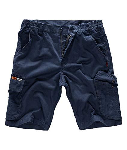 Rock Creek Herren Cargo-Shorts Herrenshorts Bermudas kurz Herren Short Sommer Hose Cargos Herren Cargoshorts Chinoshorts Chinos H-178 Navy XL