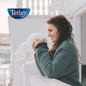 Tetley Tea Bags, Black and Green, 72 Count (Packaging may vary)