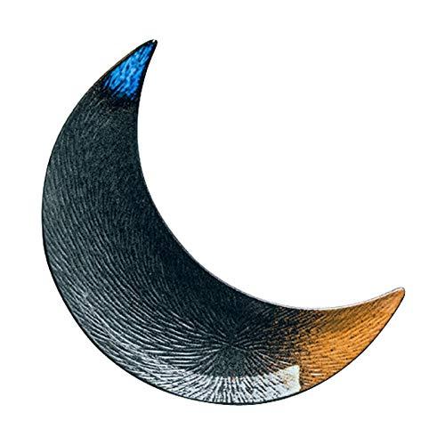 Mrjg Platos Placa de cerámica Creativa Placa de Luna Grande Placa de Sushi Placa Japonesa Placa Placa Placa Placa Pastel Placa pastelera Placa de Masa (Color : 1)