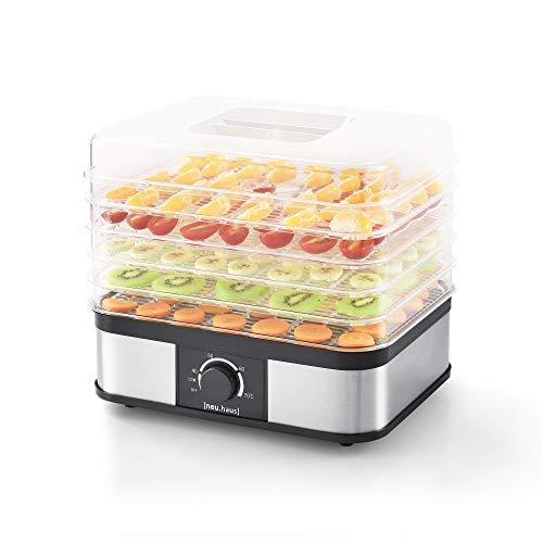[neu.haus] Voedseldroger - elektronische droogautomaat - 5 laden