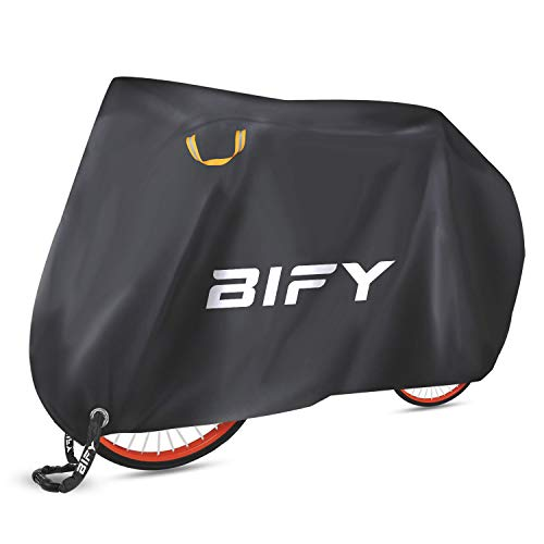 BIFY Bike Cover,L/XL/XXL bike/motorcycle cover,waterproof bike protective cover with lock holes,sun protection and rain(XXL-190T)
